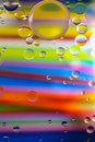 Rainbow  Circle Bubbles Royalty Free Stock Photo