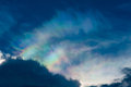 Rainbow in a cloud Royalty Free Stock Photos
