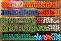 Rainbow Colors Pens Background