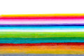 rainbow colors stripes Royalty Free Stock Photo