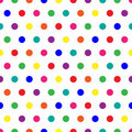 Rainbow Dots Royalty Free Stock Image