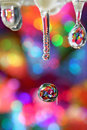 Rainbow drops. Royalty Free Stock Photo