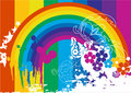 Rainbow everywhere Royalty Free Stock Photos