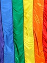 Rainbow Flag Stock Image