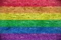 Rainbow flag Royalty Free Stock Photo