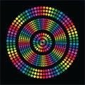 Rainbow fun Circle Stock Images