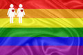 Rainbow gay Flag Royalty Free Stock Image