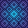 Rainbow geometric pattern in folk style seamless texture Royalty Free Stock Images