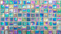 Rainbow Glass Mosaic Tile Royalty Free Stock Photo