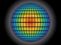 Rainbow globe Royalty Free Stock Photo