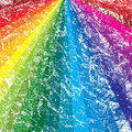 Rainbow grunge background Stock Photo