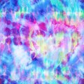 Rainbow Hippie Tie Dye Explosion Print Royalty Free Stock Photo