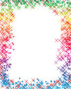 The Rainbow Letter Royalty Free Stock Photography
