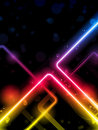 Rainbow  Lines Background Neon Laser Royalty Free Stock Photo