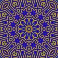 Rainbow Lines Background Neon Laser geometric kaleidoscope Royalty Free Stock Photo