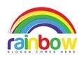 Rainbow Logo Concept