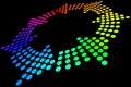 Rainbow Loop Royalty Free Stock Image