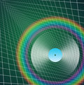 Rainbow LP Stock Image