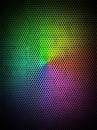 Rainbow Metal Background