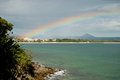 Rainbow over Noosa Stock Photography