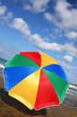 Rainbow Parasol Stock Photos