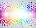 Rainbow Pixel abstract Background Royalty Free Stock Photo