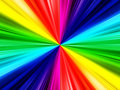 Rainbow ray background Royalty Free Stock Image