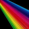 Rainbow rays Royalty Free Stock Photography