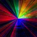 Rainbow rays Royalty Free Stock Photo