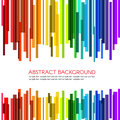 Rainbow rectangle bars wave vector abstract background Royalty Free Stock Photo