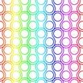 Rainbow Ring Scales Seamless P...