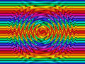 Rainbow Ripples Royalty Free Stock Photography