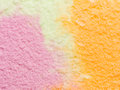 Rainbow sherbert with three colors Royalty Free Stock Images