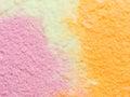 Rainbow sherbet Royalty Free Stock Photo