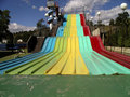 Rainbow Slide Royalty Free Stock Photography