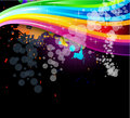 Rainbow Spectrum Background for Brochure or Flyers Royalty Free Stock Images
