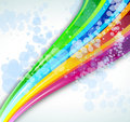 Rainbow Spectrum Background for Brochure or Flyers Stock Photos