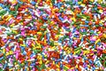 Rainbow Sprinkles Royalty Free Stock Photo