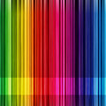 Rainbow stripe background Stock Photos