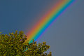 Rainbow strongest color i ve ever seen Stock Photo