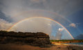 Picture : Rainbow heart  skyline