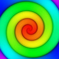 Rainbow swirl Royalty Free Stock Photo