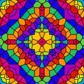 Rainbow Tile Kaleidoscope