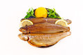 Rainbow trout smoked Royalty Free Stock Photo