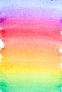 Rainbow Vivid Watercolor Backg...