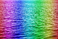 Rainbow water Royalty Free Stock Photography