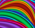 Rainbow Waves Royalty Free Stock Image