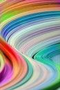 Rainbow waves Stock Photos