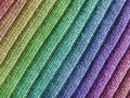 Rainbow Wool Fabric Stock Photos