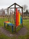 Rainbow Xylophone Royalty Free Stock Photo